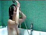 A shower is all thats needed to get this hot woman relaxed and ready to spend a romantic evenin...