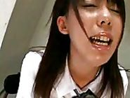 Asian schoolgirl slut uses her fingers to stimulate her achy pussy until she is creaming hersel...
