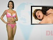 Desnudando la noticia - Stripping the news - Naked DLN Venezuelan TV - totally naked sexy headl...