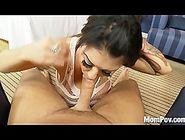 Big tits blowjob slut
