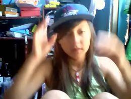 Morrita venezolana por webcam - Video completo: