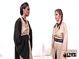 Hottest Lesbian Cosplay With Penny Pax & Skin D