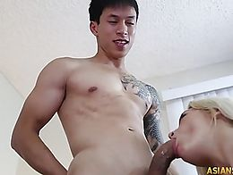 Tired of getting harassed for having an Asian BF and asked if her BF has a small penis, popular...