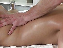 Hot cum twice massage