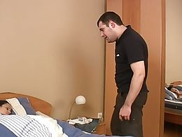 WANKZ- Jack sees his girlfriend peacefully resting in bed and decides to join her in the sack a...