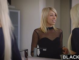 BLACKED Elsa Jean Zoey Monroe First BBC