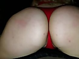 Pawg girlfriend teasing grinding and humping on the dick before valentines-day sex...