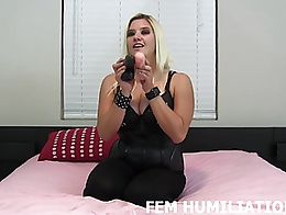 I'm going to make you into my personal bisexual slut today, and in order to do that, I'm giving...
