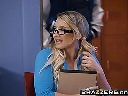 Brazzers - Big Tits at School - Cum Credits scene starring Cali Carter and Xander Corvus