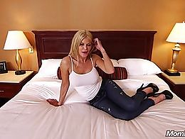 What a woman! Find her full video and many more amateur Milfs at MOMPOV