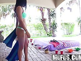 Mofos - Latina Sex Tapes - Horny Latina Works that Pussy starring Maya Bijou