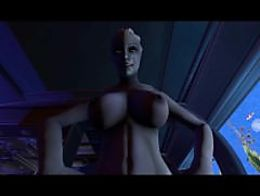 Liara fucks Shepard (Mass Effect)