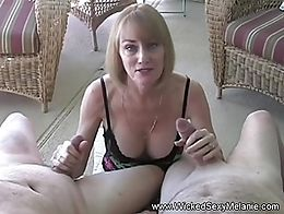 Melanie meet two men in the party who badly needs a hot blow job session with matching deep sen...