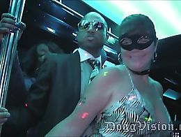 19 minutes of hot, nasty, swinger escapades. Mature, married women, with Black men - right in f...