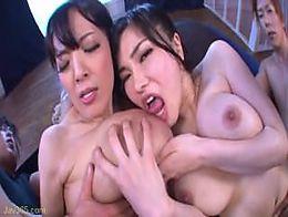 Busty Japanese Hitomi Tanaka Anri Okita (MIRD-150)