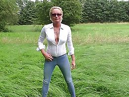 Summertime in Germany, that's the time to enjoy Pee. Horny Regards Mary from AngelAlpha