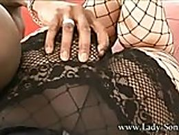 Lady-Sonia.com - MILF Sonia shares BBC with friend, and loves BBC cum