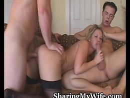 It must be interesting to come home and find your wife made a sex tape with a few friends of yo...