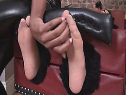 Annabelle flowers hogtied amp tickled in pantyhose