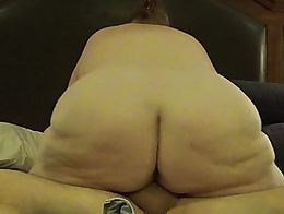 Just some good old cock riding after a nice blow job with a massive creampie.