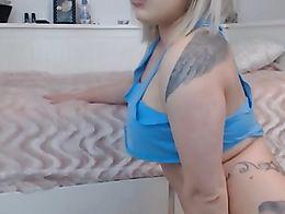 Blond, tatto, cute, girl