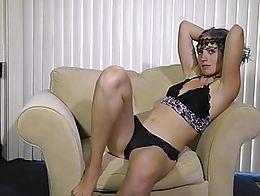 Beautiful Alt girl Juls teasing and striping. HD!