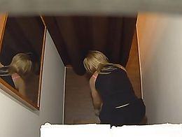 Shocking revelation! 3 spy cameras in a massage salon. We spy on Czech girls during a massage. ...