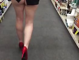 Right in the store