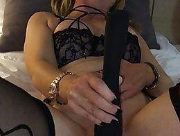 blonde having multiple orgasms
