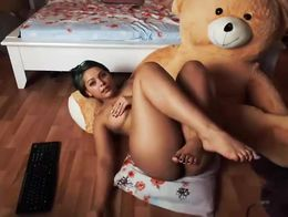 Nicollcherry teasing you until the end in webcam online show 2015 January