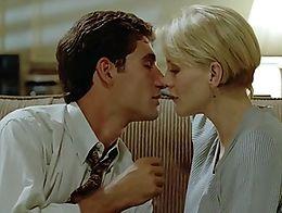 1997. American. Babes. Big Boobs. Blondes. Bra. Caucasian. Celebrities. Cleavage. Kissing. Nipp...