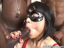 Real MILF Gangbang Masked Asian Wife Dee