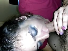 slut sucks my cock until she thought her boyfriend came home. Soooo... Watch the second video t...