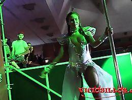 Rob Diesel y Gala Brown follando en el SEB