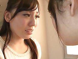 Tiny japanese teen Shuri Atomi dominates many lesbians, young and old.