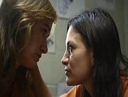 A lesbian Scene from Jailbait Movie