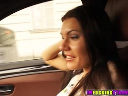Backseat Anal action with Kitana Lure