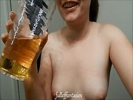 REAL Amateur Piss Drinking