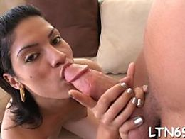 Alluring babe is driving hunk wild with zealous cowgirl riding