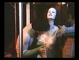 You must see this! Brigitte Lahaie rare and maybe only true GangBang. Made in Paris Subway. Enj...