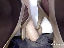 High Heels Domination Training ....only here