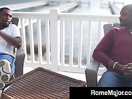Rome Major & homie, Tai Woodz Get Sloppy Blow Jobs & then Cram Their Big Ass Black Dick...