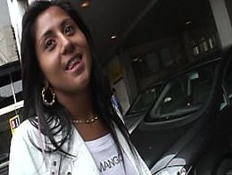 Pilladas en la calle Soraya - Torbe pays to destroy her ass
