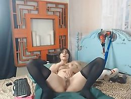 You should never miss this naughty and wild babe as she show her viewers a hardcore masturbatio...