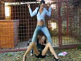 Lesbian Public Pee