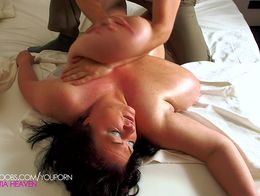 Massive BBW breast massage