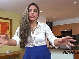image Tu venganza revengeful latina craves dick and huge facial