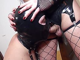 Check out all my compilation from my channel, here you have the best scenes of slave submission