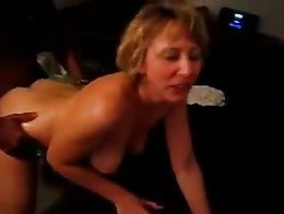True amateur home made wife loves that her husband got her a BBC to enjoy.