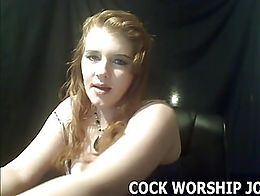 You need to learn to suck cock like a pro so I'm going to show you. First you have to put on ...